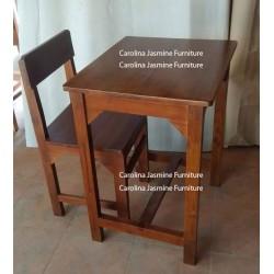 Meja Sekolah Tanpa Tundan