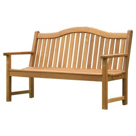 Wooden Garden Bench Edwardian 150cm Bench