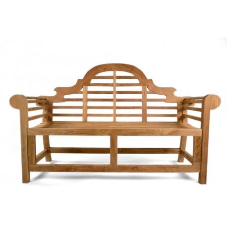 Lutyens teak bench big