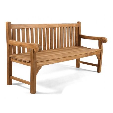 Granchester teak bench 180cm