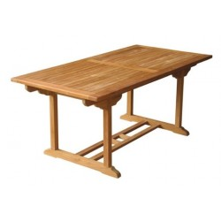 Garden dining table Victoria rect table 90x180