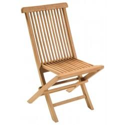 Teak folding chairs Victoria folding armchair