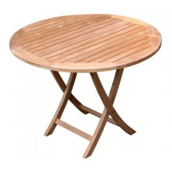 Teak coffee tables victoria easyfold 100cm round