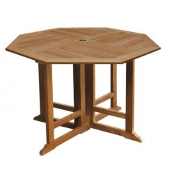 outdoor teak table victoria gateleg 120cm oct
