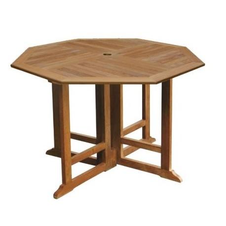 outdoor teak table victoria gateleg 120cm oct