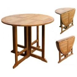 Gateleg table victoria gateleg 80cm round