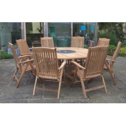 Teak sets regency table set